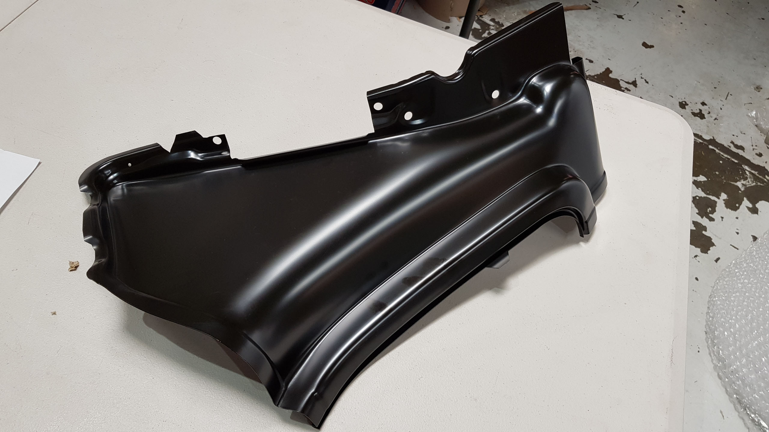 Chevrolet 1957 Tail Light Panel to Quarter Patch Panel
