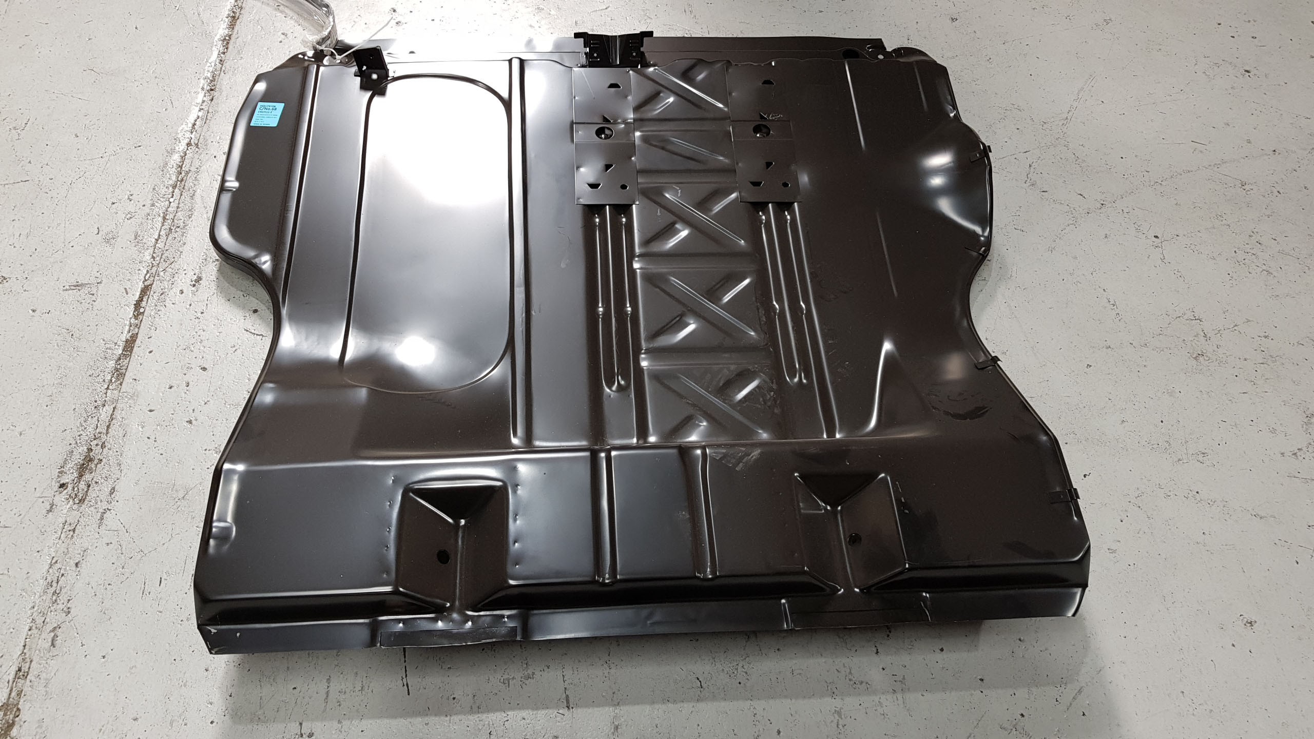 Chevrolet 1955-1957 Boot / Trunk Floor Without Spare Wheel Slot