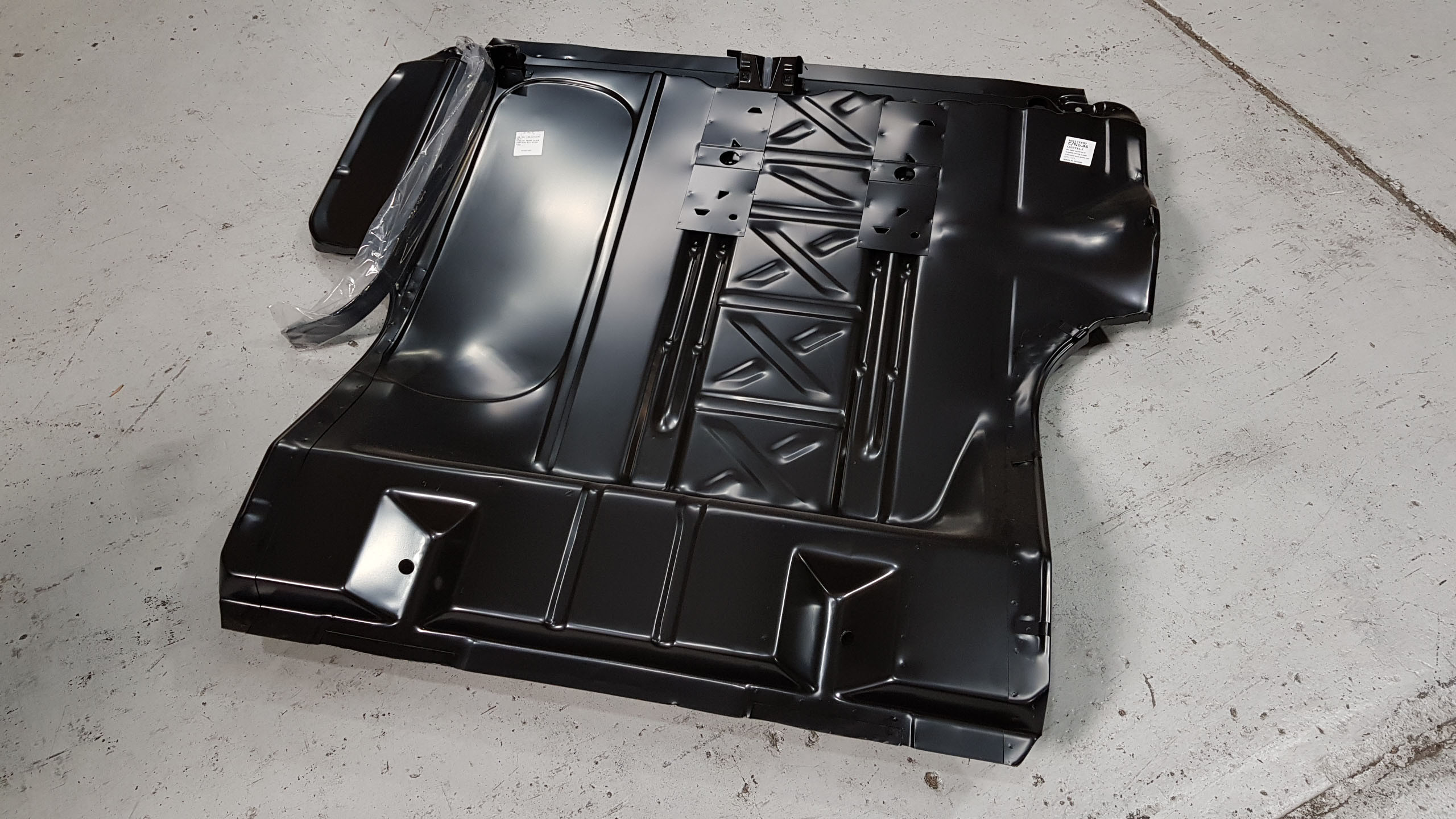 Chevrolet 1955-1957 Boot / Trunk Floor Suited For Tubbing