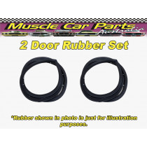 Datsun 1600 2 Door Door Rubber / Seal Set