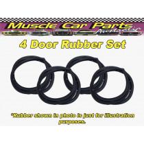 Mazda 929 RX4 Sedan 4 Door Rubber / Seal Set 4pc
