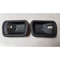 Mazda RX3 Inner Door Handle Scratch Pads / Cups Pair