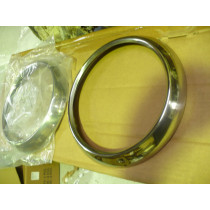 Chevy Pickup 1947-1955 Headlight Bezel Stainless Steel (Pair) with Clips