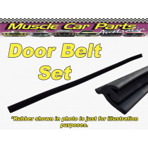 Datsun 620 Ute Door belt / Weatherstrip Set 4pc