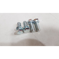 Ford Falcon XR-XY Front Bumper Chassis Bolts Zinc (4PK)