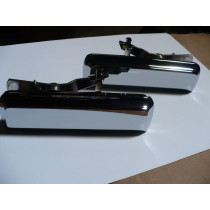 Ford Falcon XD XE XF, Cortina TE TF Outer Door Handles (Chrome)