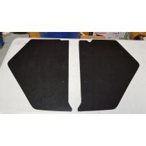 Holden FX-FJ Black Embossed Board Kick Panels