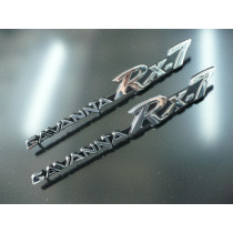 Mazda RX-7 Savanna Guard Badge Set