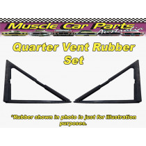 Datsun 1600 2 Door Rear Quarter Vent Rubber / Seal Set