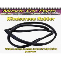 Fiat 124-125 Rear Windscreen Rubber / Seal